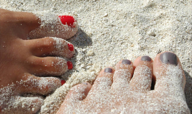 piedi nudi belli